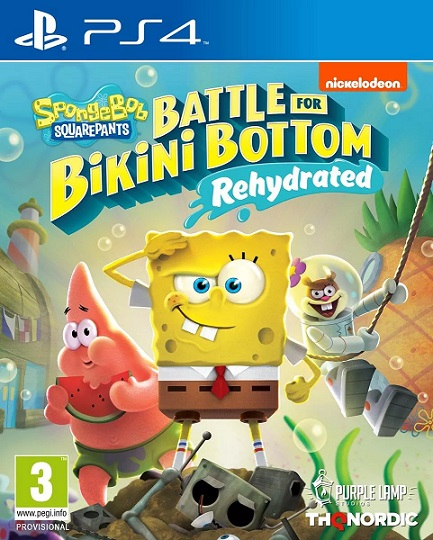 SpongeBob SquarePants: Battle for Bikini Bottom - Rehydrated (PL!) DUBBING (PS4)