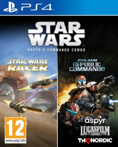Star Wars Racer and Commando Combo (PS4)