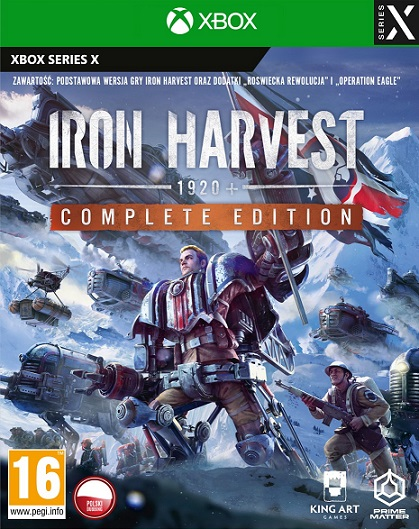 Iron Harvest Complete Edition (PL!) (XSX)