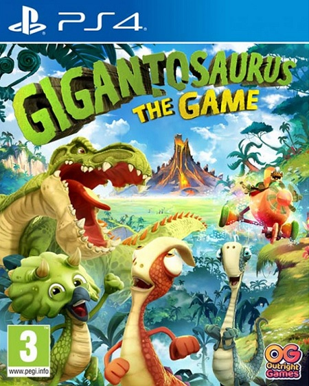 Gigantosaurus The Game (PL!) (PS4)